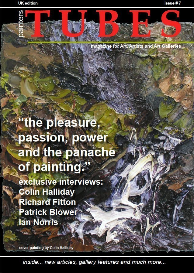 painters TUBES art magazine