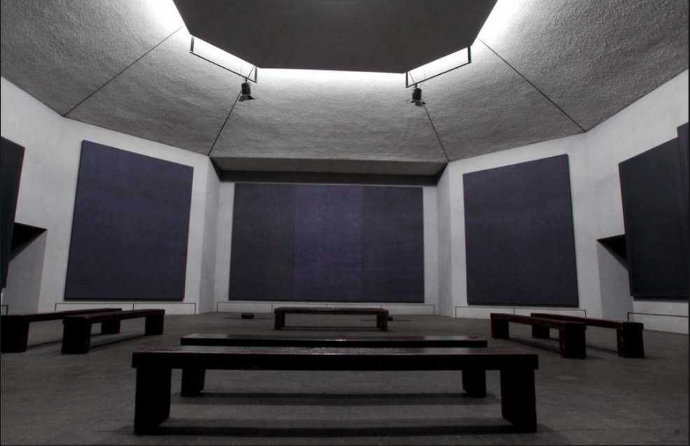 The Rothko Chapel in Texas -article in painters Tubes magazine